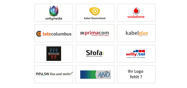 Unsere Kunden sind alle großen deutschen Netzbetreiber